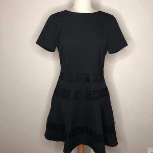 Chelsea28 Black Skater Dress